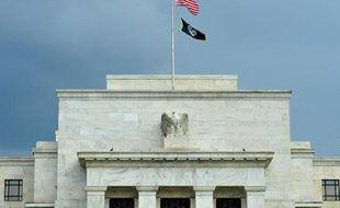 La banque centrale américaine (Fed), à Washington