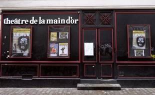 Le théâtre de la Main d'Or, à Paris, où se produit Dieudonné M'Bala M'Bala