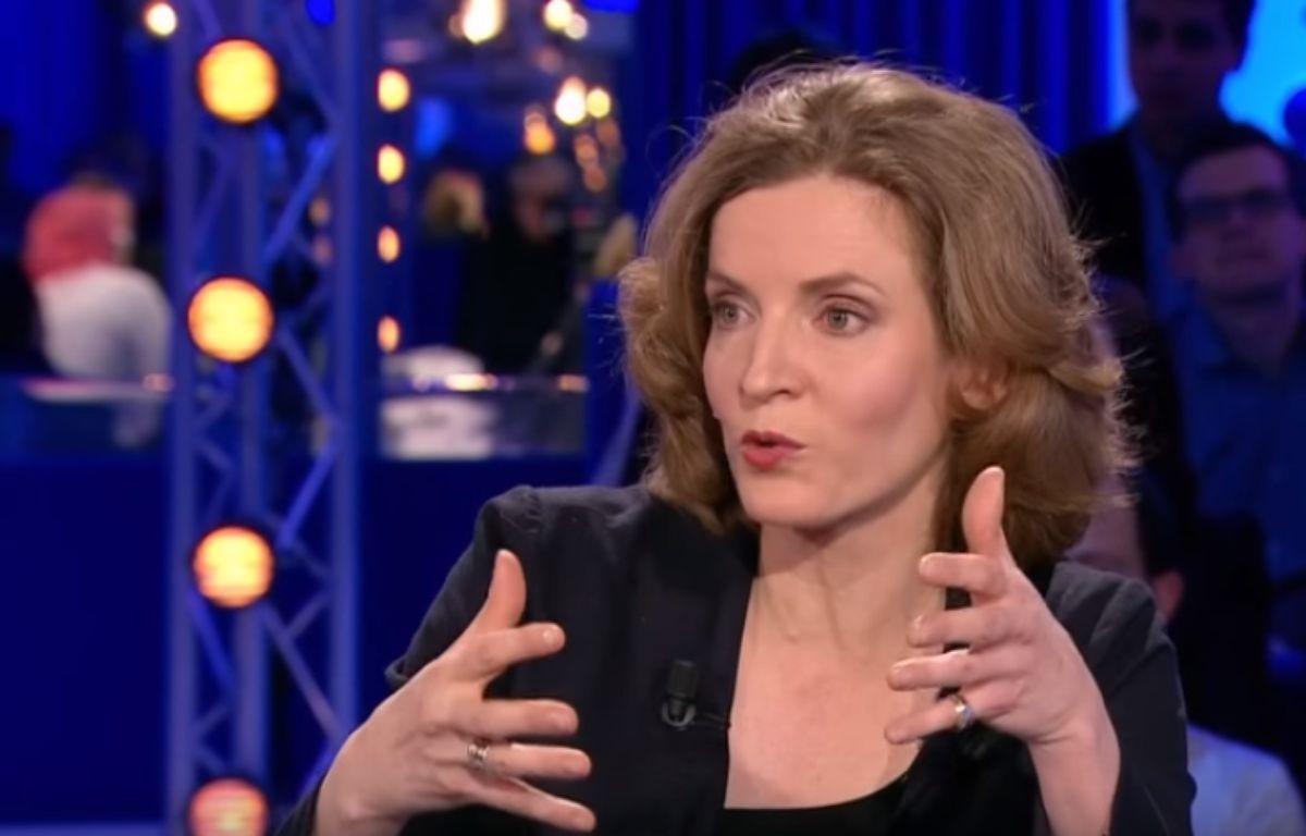 Nathalie Kosciusko-Morizet dans «On n'est pas couché», le 12 mars 2016. – Tout sur l'écran - France 2