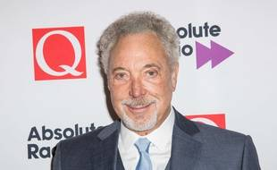 Le chanteur britannique Tom Jones, 75 ans, à Londres le 19 octobre 2015.