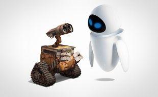 Les robots du film d'animation «Wall-E».