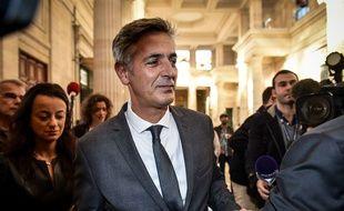 Pascal Bonnefoy, l'ancien majordome de la milliardaire a été relaxé le 12 janvier 2016 à bordeaux. /Credit:Ugo Amez/SIPA/1511031354