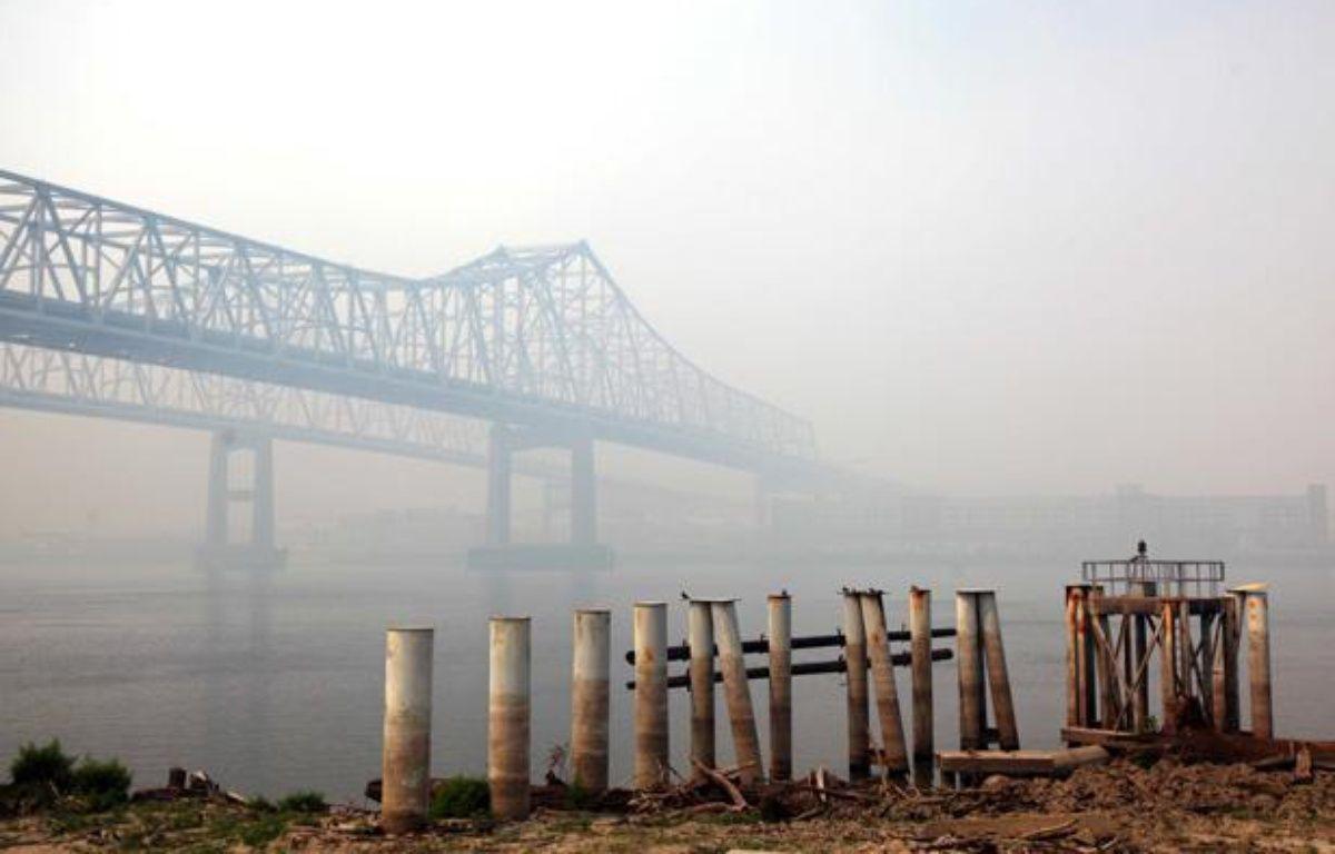 Pollution atmosphérique à La Nouvelle Orléans, en août 2011. – VARLEY/SIPA