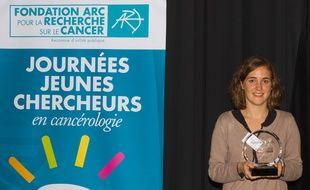 Louise Crivelli, chercheuse Bordelaise en cancérologie.