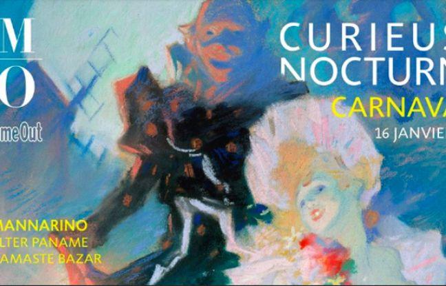 Visuel de la Curieuse Nocturne autour de l'exposition Degas à l'Opéra