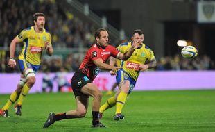Le Toulonnais Frédéric Michalak contre Clermont le 21 mars 2014.
