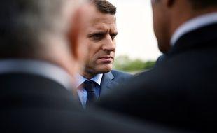 Emmanuel Macron, le 27 avril 2017 à Paris.