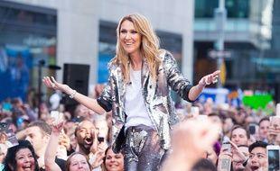 Céline Dion a été émue par le jeune chanteur Samuel
