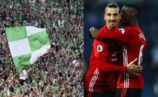 Les supporters stéphanois, qui accueillent Angers dimanche, ont hâte de défier Zlatan Ibrahimovic et Paul Pogba, dans tout juste cinq semaines dans le Chaudron.