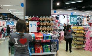 Ouverture du magasin Primark de Dijon en février 2014.