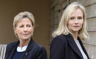 Claire Chazal et Claire Borotra à l'affiche du téléfilm «Le mort de la plage» sur France 3