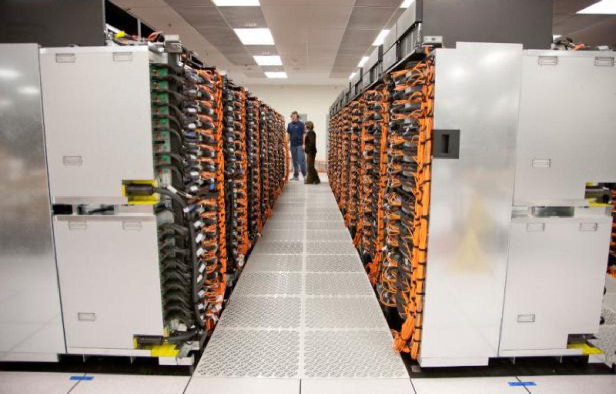 Sequoia, le superordinateur le plus rapide du monde au 18 juin 2012, fabriqué par IBM pour le département américain de l'Energie. – Lawrence Livermore National Laboratory