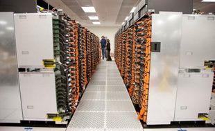 Sequoia, le superordinateur le plus rapide du monde au 18 juin 2012, fabriqué par IBM pour le département américain de l'Energie.