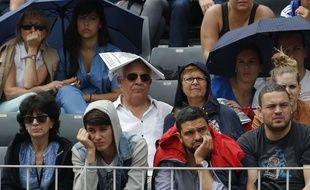 Les spectateurs de Roland-Garros, samedi 28 mai 2016