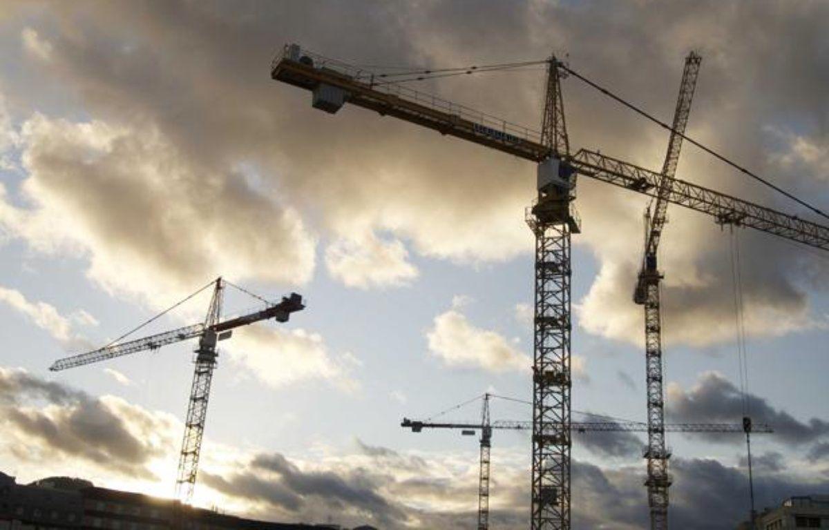 Avec le nouveau dispositif «Scellier», Cécile Duflot vise la construction de 40.000 logements en 2013. – JAUBERT/SIPA