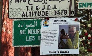 Une photo d'Hervé Gourdel, l'otage français assassiné sur les hauteurs de Tizi Ouzou en Algérie, le 24 septembre 2014.
