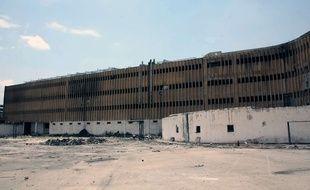 La prison d'Alep, en Syrie, le 22 mai 2014