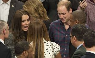Kate Middleton, Beyoncé, le Prince William et Jay-Z, à New York, le 8 décembre 2014.