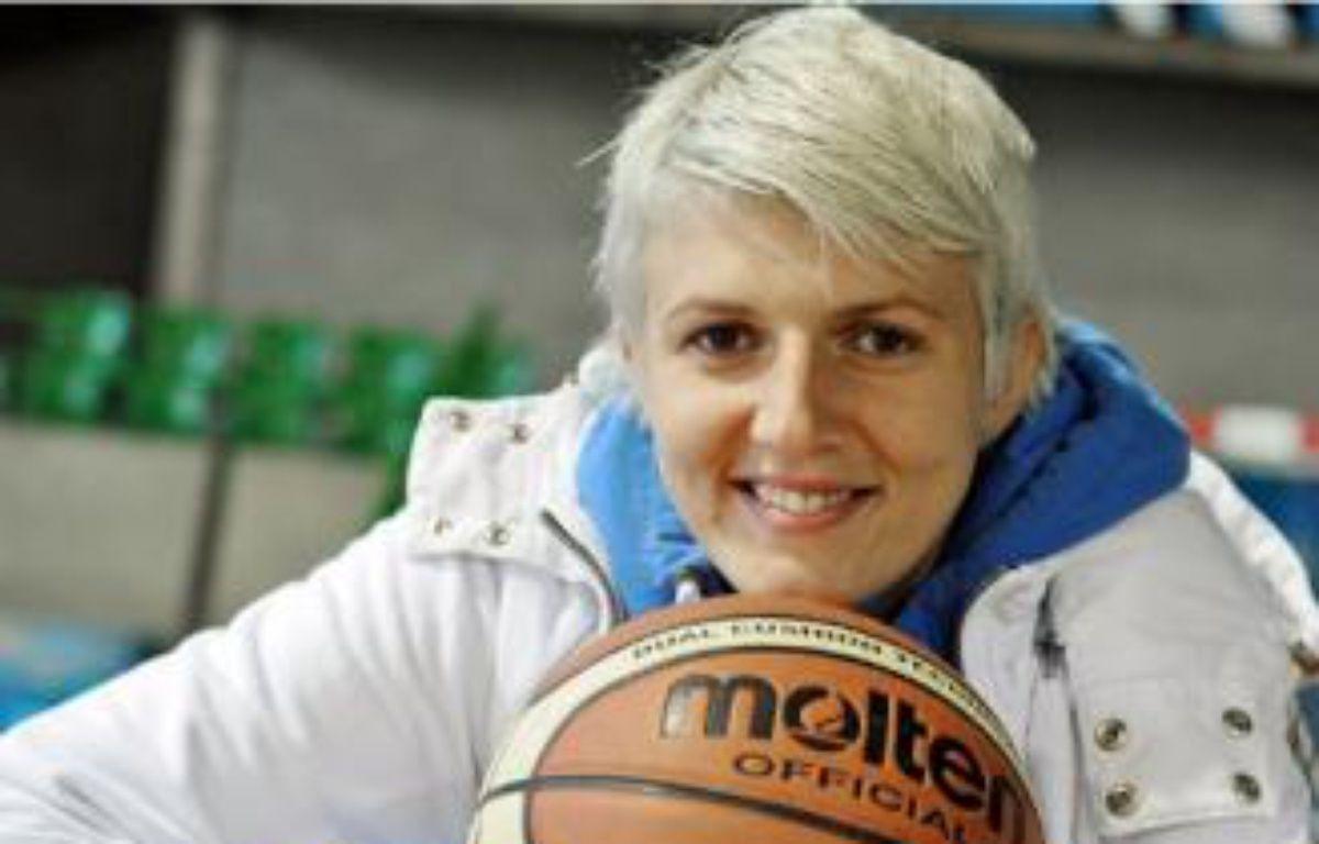 Emilija Podrug s'est entraînée pour la première fois avec le NRB hier soir à Beaulieu. –  F. Elsner / 20minutes