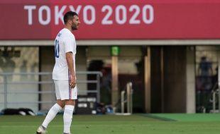 Grosse déception pour l'équipe de France d'André-Pierre Gignac, giflée par le Mexique (4-1) lors de son premier match des Jeux olympiques de Tokyo, ce jeudi.