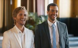 Philippe Lacheau et Tarek Boudali dans «Epouse-moi mon pote».
