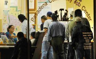 Une agence pour l'emploi à Passadena en Californie, en octobre 2009