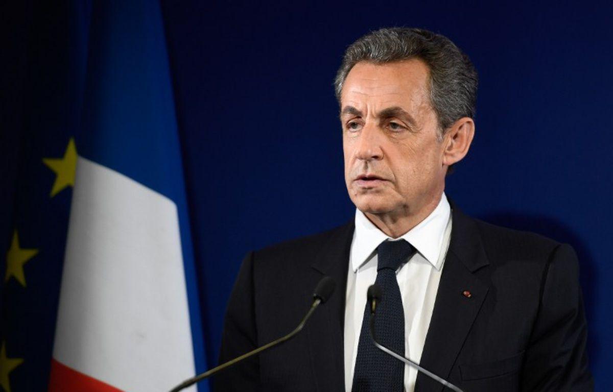 L'ancien président Nicolas Sarkozy a appelé à voter François Fillon – ERIC FEFERBERG / POOL / AFP