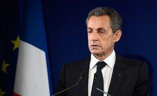 L'ancien président Nicolas Sarkozy.