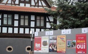 Les Alsaciens sont appelés dimanche aux urnes pour un référendum qui, si le oui l'emporte, ouvrirait à la voie à une fusion, inédite en France, de leurs assemblées départementales et régionale.