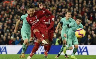Firmino a inscrit un triplé pour Liverpool face aux Gunners.