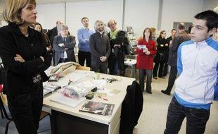 Anne Lauvergeon rencontre les étudiants du DU DEFIT Brest le 25 avril 2012