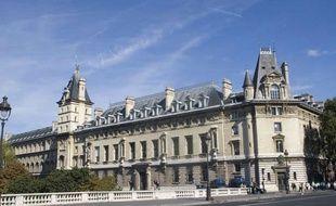 Illustration: Le palais de justice de Paris.