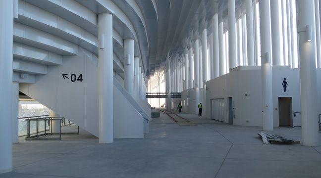 Bordeaux, le 11 février 2015 - Visite de la fin de chantier du Nouveau stade. – Marc Nouaux / 20 Minutes
