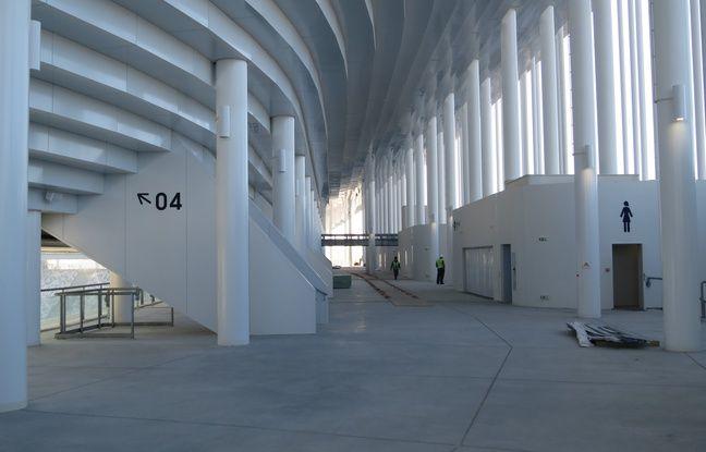 Bordeaux, le 11 février 2015 - Visite de la fin de chantier du Nouveau stade. - Marc Nouaux / 20 Minutes