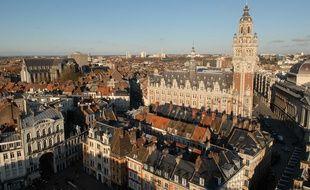 Vue générale de la ville de Lille.