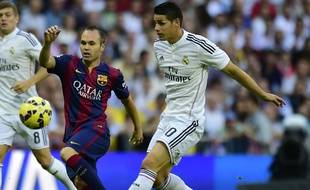 Real Madrid - FC Barcelone, le 25 octobre 2014.