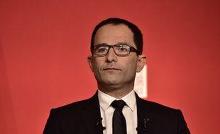 Le fondateur du mouvement du 1er juillet, Benoît Hamon
