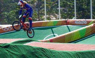 A Rio, Manon Valentino avait chuté lors de la finale de l'épreuve de BMX.