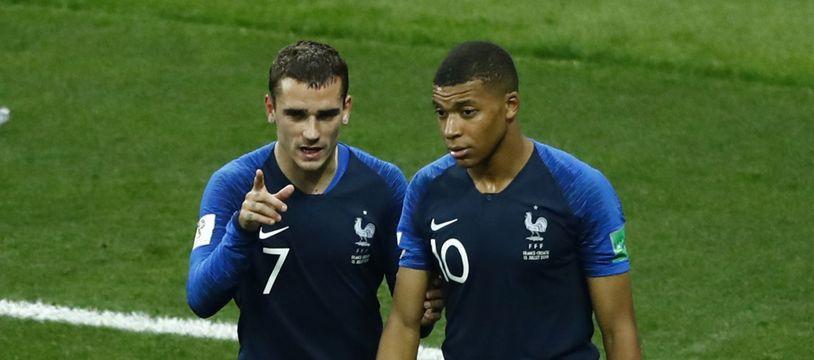 Griezmann et Mbappé à la Coupe du monde