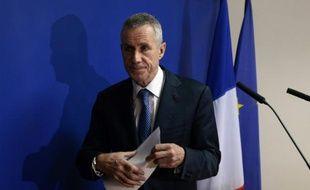 Le procureur François Molins à l'issue d'une conférence de presse le 18 novembre 2015 à Paris