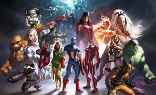 Image promotionnelle du jeu «Marvel Heroes»
