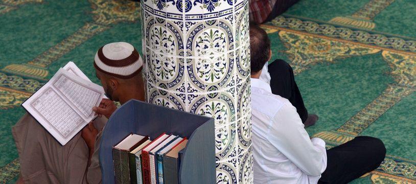 illlustration musulmans priere mosquee//ALLILIMOURAD_allili010422/Credit:ALLILI/SIPA/1805201537