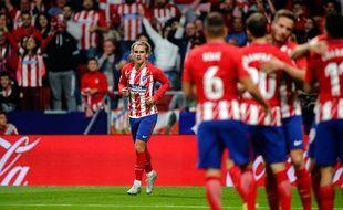 Antoine Griezmann marque le premier but du nouveau stade de l'Atletico