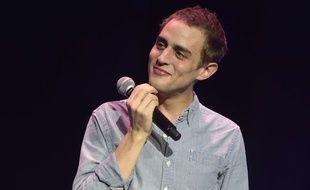 Benjamin Siksou lors de la remise des Grands Prix de la SACEM, le 27 novembre 2017, salle Pleyel à Paris.