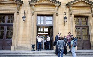 La façade du tribunal de grande instance de Metz (Moselle). (Archives)