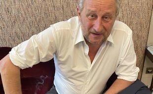 Benoît Poelvoorde, à Paris, le 1er juillet 2021