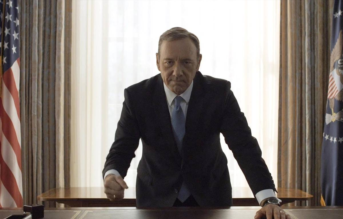 Kevin Spacey dans «House of Cards». – SONY/NETFLIX
