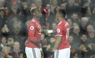 Pogba et Martial, duo gagnant à MU.