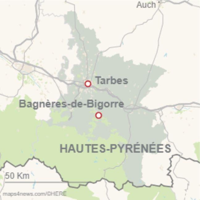 Les Hautes-Pyrénées. (Illustration)