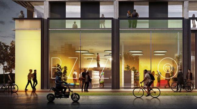 Le projet de résidence étudiante du groupe Pichet pour le plateau de Saclay. Laisné roussel, RSI Studio – Pichet Immobilier